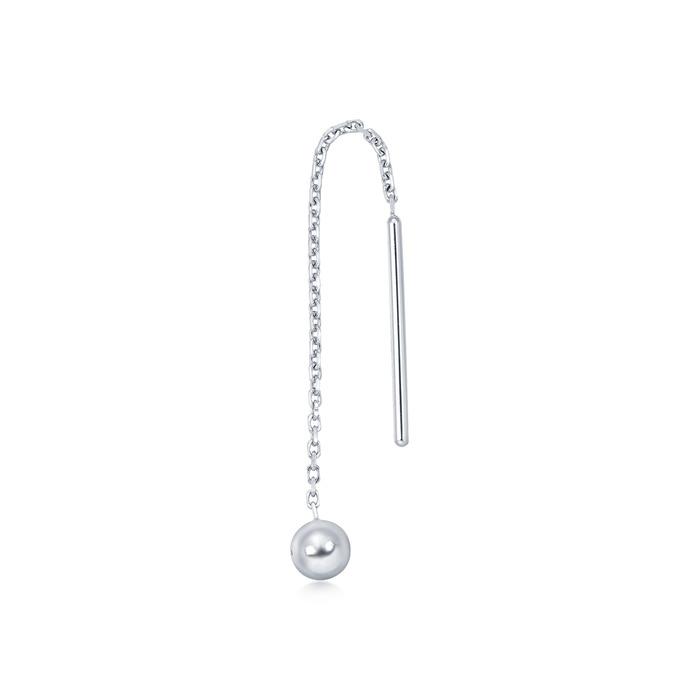 950铂金单耳环