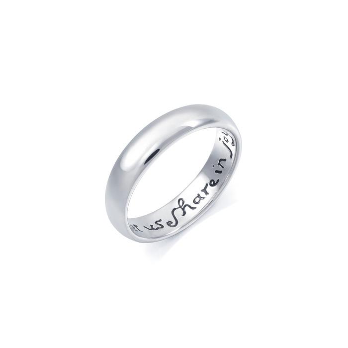 「Posy」950铂金戒指