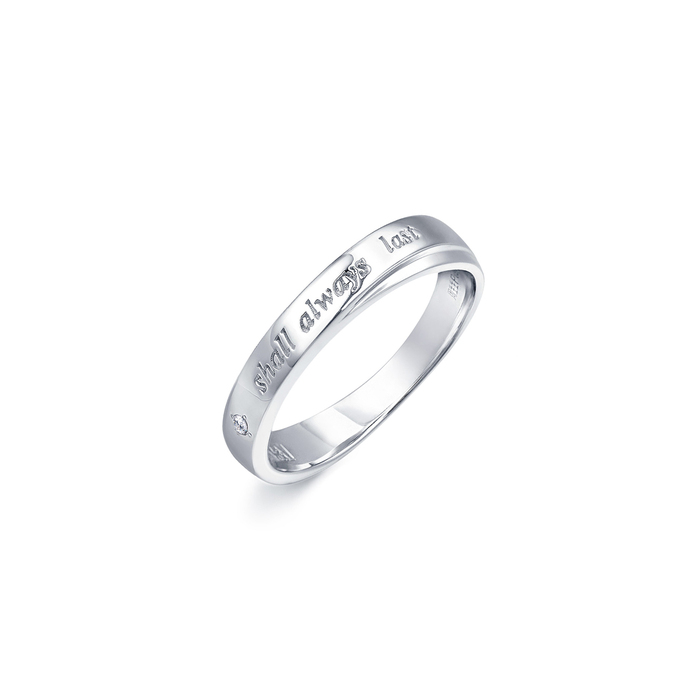 「Posy」950铂金钻石戒指